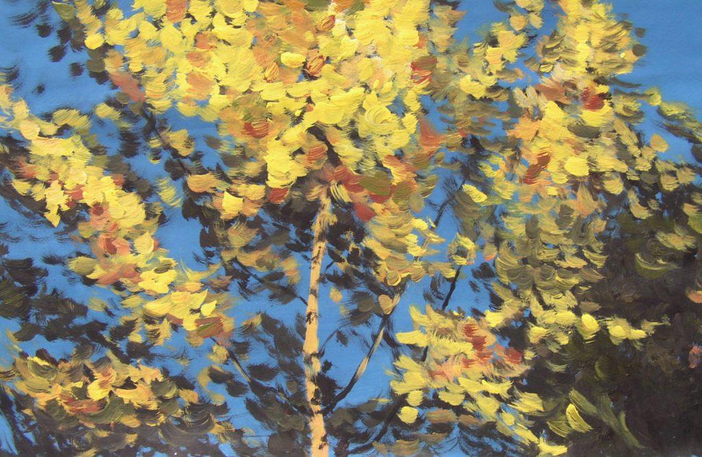 Male den Herbst!
